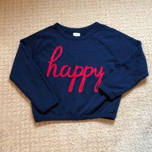 Super cute cropped sweatshirt from Gymboree! Euc!